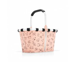Koszyk carrybag XS kids cats and dogs rose