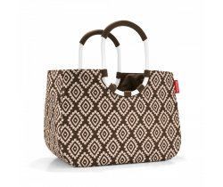 Torba loopshopper L diamonds mocha